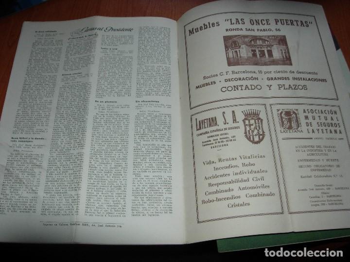 Coleccionismo deportivo: CLUB DE FUTBOL BARCELONA / BARÇA 1955 / INFORMACION Nº 11 Y Nº12 - Foto 6 - 134025286