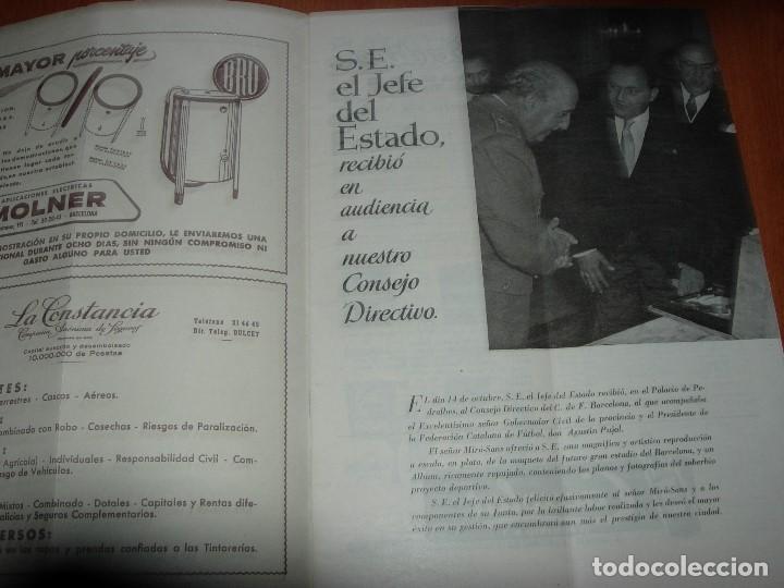 Coleccionismo deportivo: CLUB DE FUTBOL BARCELONA / BARÇA 1955 / INFORMACION Nº 11 Y Nº12 - Foto 7 - 134025286