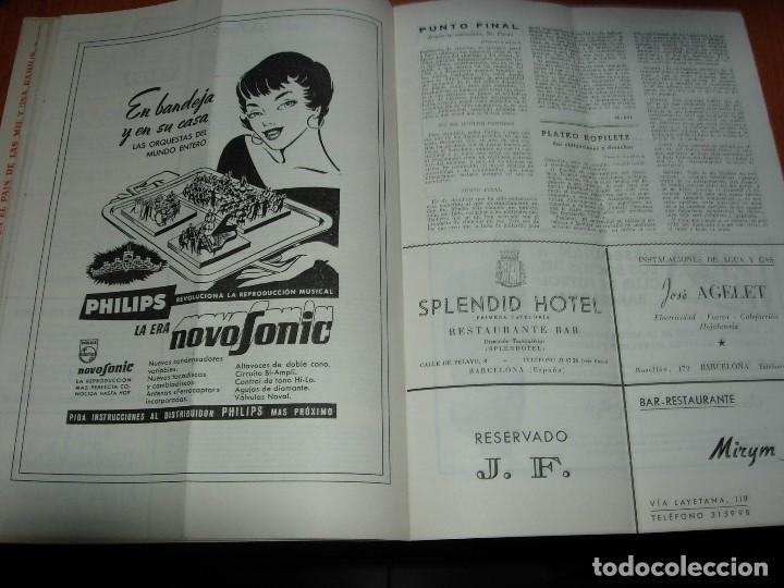 Coleccionismo deportivo: CLUB DE FUTBOL BARCELONA / BARÇA 1955 / INFORMACION Nº 11 Y Nº12 - Foto 8 - 134025286