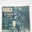Coleccionismo deportivo: PUBLICACIÓN /REVISTA DE FÚTBOL BARÇA - 1969, Nº 722 - BARCELONA - REAL MADRID EMPATE ESPERANZADOR. Lote 134491211