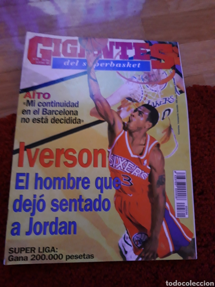 GIGANTES DEL BASKET 594 JORDAN 1997 (Coleccionismo Deportivo - Revistas y Periódicos - otros Fútbol)