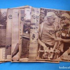 Coleccionismo deportivo: 12 REVISTAS CAMPEON DE FUTBOL DIFERENTES, AÑOS 1930, VER DESCRIPCION Y FOTOS ADICIONALES. Lote 135235726
