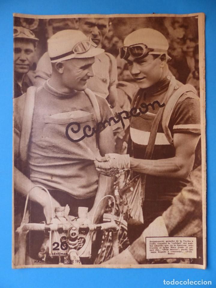 Coleccionismo deportivo: 12 REVISTAS CAMPEON DE FUTBOL DIFERENTES, AÑOS 1930, VER DESCRIPCION Y FOTOS ADICIONALES - Foto 2 - 135235726
