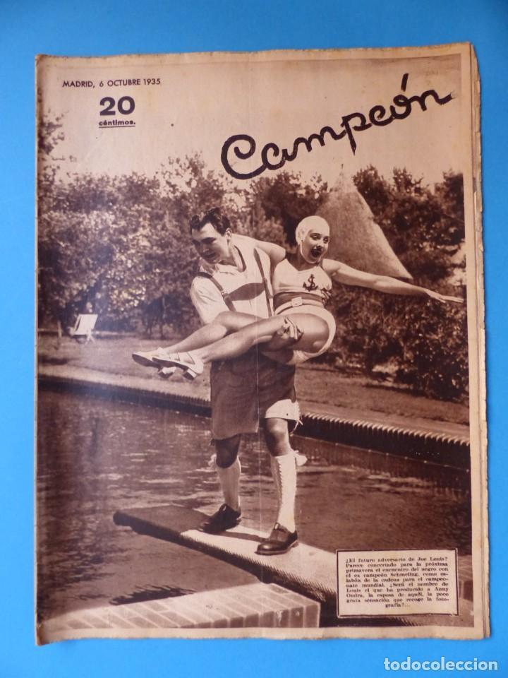 Coleccionismo deportivo: 12 REVISTAS CAMPEON DE FUTBOL DIFERENTES, AÑOS 1930, VER DESCRIPCION Y FOTOS ADICIONALES - Foto 4 - 135235726
