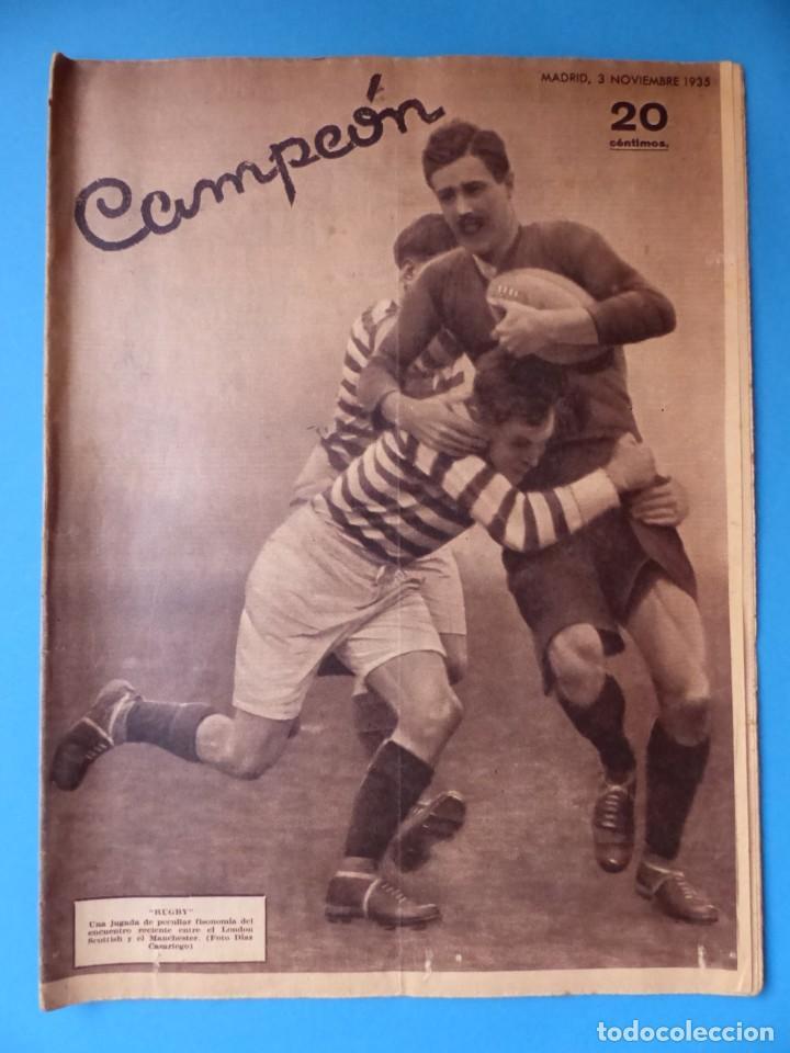 Coleccionismo deportivo: 12 REVISTAS CAMPEON DE FUTBOL DIFERENTES, AÑOS 1930, VER DESCRIPCION Y FOTOS ADICIONALES - Foto 7 - 135235726