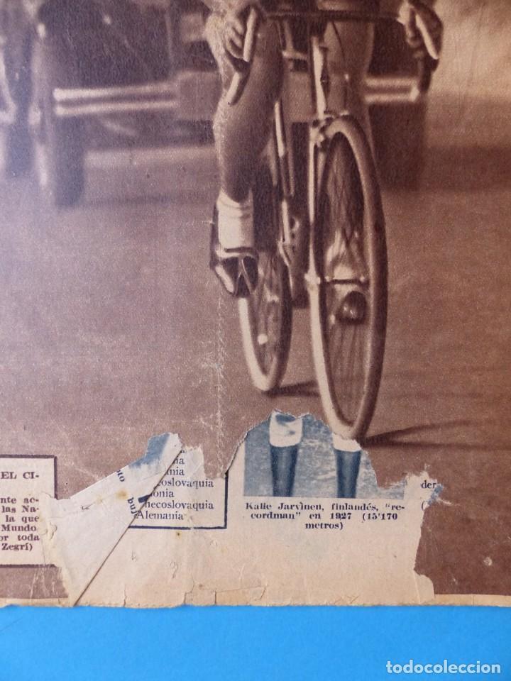 Coleccionismo deportivo: 12 REVISTAS CAMPEON DE FUTBOL DIFERENTES, AÑOS 1930, VER DESCRIPCION Y FOTOS ADICIONALES - Foto 9 - 135235726