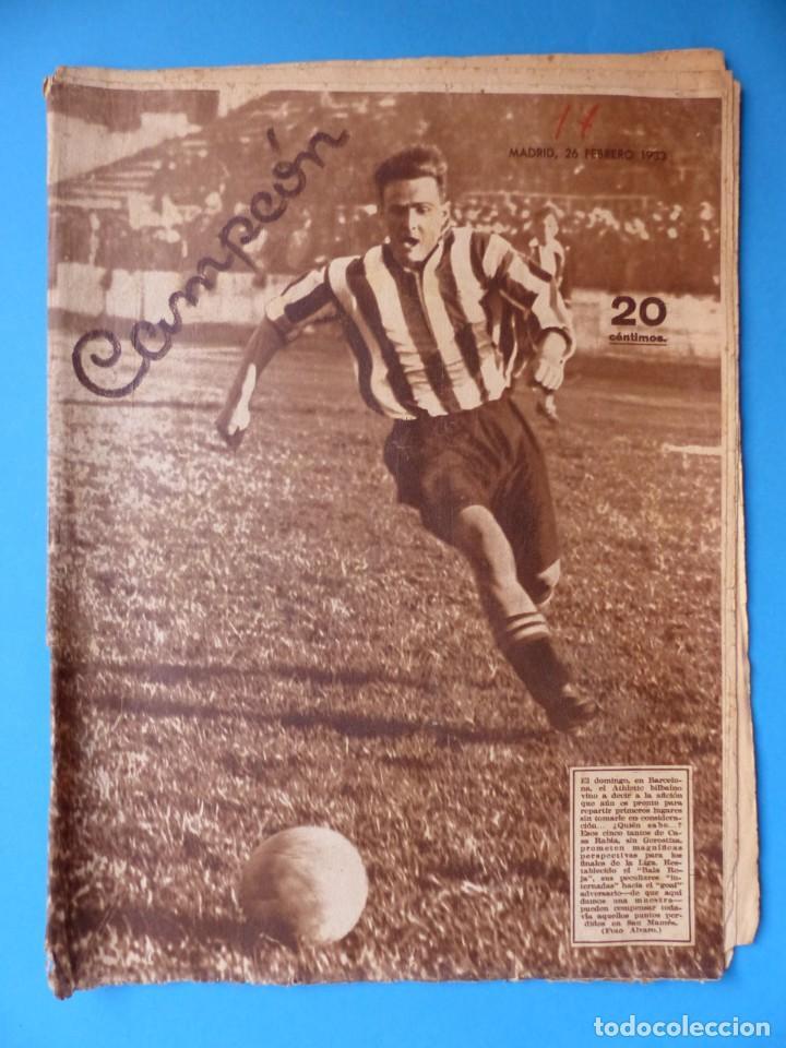 Coleccionismo deportivo: 12 REVISTAS CAMPEON DE FUTBOL DIFERENTES, AÑOS 1930, VER DESCRIPCION Y FOTOS ADICIONALES - Foto 13 - 135235726