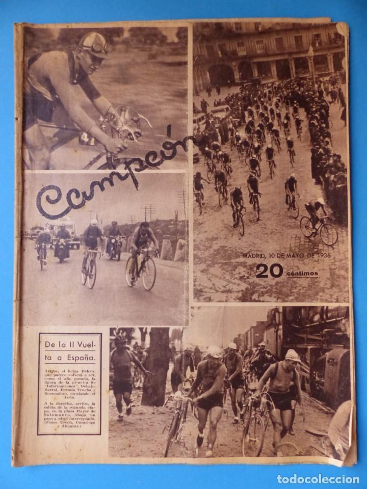 Coleccionismo deportivo: 12 REVISTAS CAMPEON DE FUTBOL DIFERENTES, AÑOS 1930, VER DESCRIPCION Y FOTOS ADICIONALES - Foto 15 - 135235726