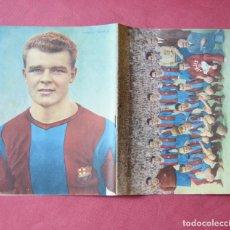 Coleccionismo deportivo: REVISTA FUTBOL CLUB BARCELONA - 1952 - 1953 - LADISLAO KUBALA - FICHAS DE JUGADORES - BARÇA. Lote 135494582