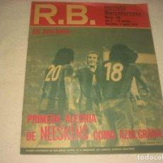 Coleccionismo deportivo: REVISTA RB, BARCELONISTA Nº 488 . AGOSTO 1974 , EL PORTADA NEESKENS .. Lote 135633051