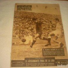 Coleccionismo deportivo: VIDA DEPORTIVA Nº 396 , ABRIL 1953 . APASIONANTE FINAL DE LA LIGA. Lote 135633535