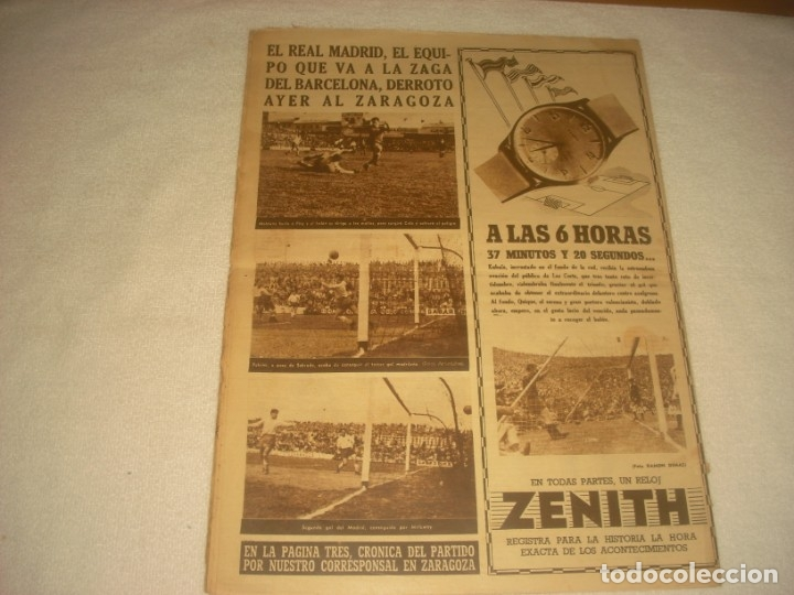 Coleccionismo deportivo: VIDA DEPORTIVA Nº 396 , ABRIL 1953 . APASIONANTE FINAL DE LA LIGA - Foto 2 - 135633535