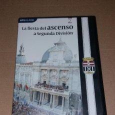 Coleccionismo deportivo: DVD ASCENSO F.C. CARTAGENA A 2ª DIVISIÓN. 2009, ELFARO (PARTIDO Y CELEBRACIONES). Lote 135730851