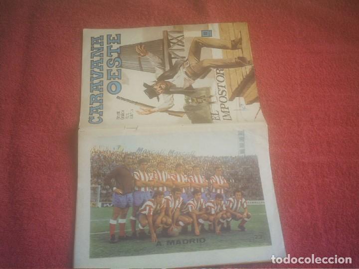 ATLETICO DE MADRID ALINEACION 1972 CARAVANA OESTE Nº 23 (Coleccionismo Deportivo - Revistas y Periódicos - otros Fútbol)