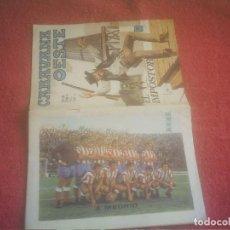 Coleccionismo deportivo: ATLETICO DE MADRID ALINEACION 1972 CARAVANA OESTE Nº 23. Lote 135806322