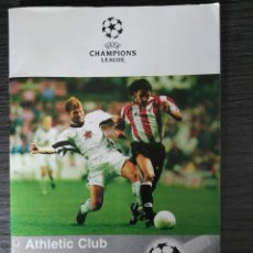Coleccionismo deportivo: PROGRAMA DEL PARTIDO ATHLETIC CLUB-JUVENTUS FC - CHAMPIONS LEAGUE TEMP 98-99. Lote 136028578