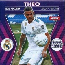 Coleccionismo deportivo: 1 POSTER TAMAÑO FOLIO REVISTA JUGON - THEO ( REAL MADRID C.F ) 2017-2018. Lote 136138258