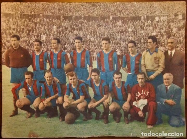 REVISTA BOLETIN DEL C.F. BARCELONA 1952-53 EDIT. INSTITUTO BALDOMÁ BARÇA (Coleccionismo Deportivo - Revistas y Periódicos - otros Fútbol)
