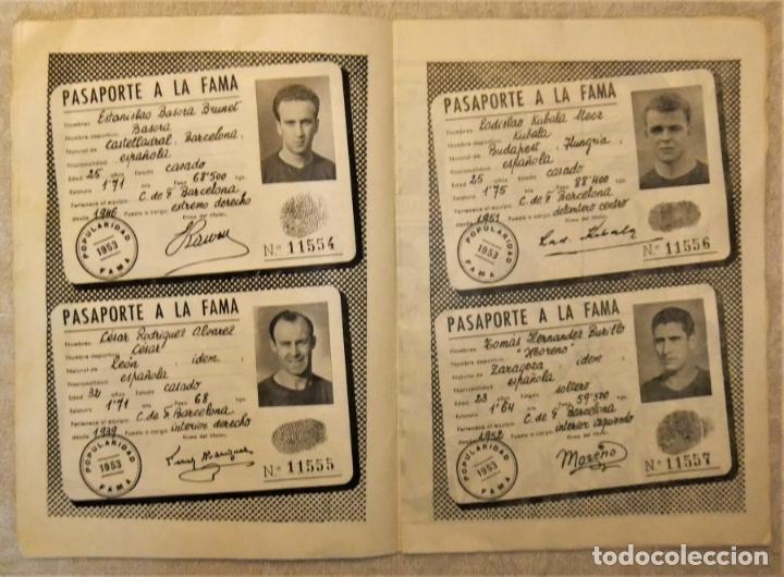 Coleccionismo deportivo: REVISTA BOLETIN DEL C.F. BARCELONA 1952-53 EDIT. INSTITUTO BALDOMÁ BARÇA - Foto 4 - 136145970