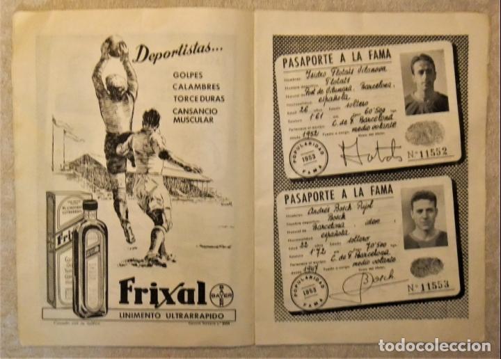 Coleccionismo deportivo: REVISTA BOLETIN DEL C.F. BARCELONA 1952-53 EDIT. INSTITUTO BALDOMÁ BARÇA - Foto 5 - 136145970