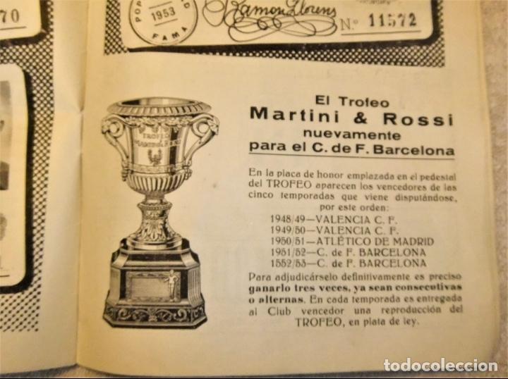 Coleccionismo deportivo: REVISTA BOLETIN DEL C.F. BARCELONA 1952-53 EDIT. INSTITUTO BALDOMÁ BARÇA - Foto 6 - 136145970