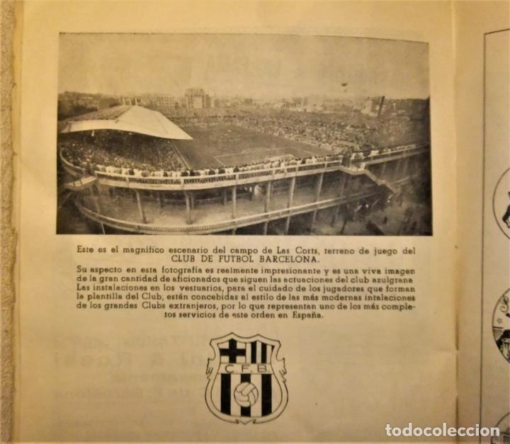 Coleccionismo deportivo: REVISTA BOLETIN DEL C.F. BARCELONA 1952-53 EDIT. INSTITUTO BALDOMÁ BARÇA - Foto 7 - 136145970
