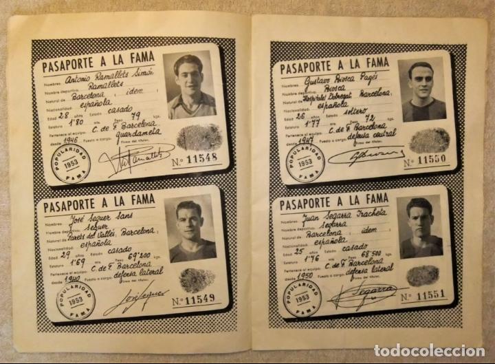 Coleccionismo deportivo: REVISTA BOLETIN DEL C.F. BARCELONA 1952-53 EDIT. INSTITUTO BALDOMÁ BARÇA - Foto 9 - 136145970