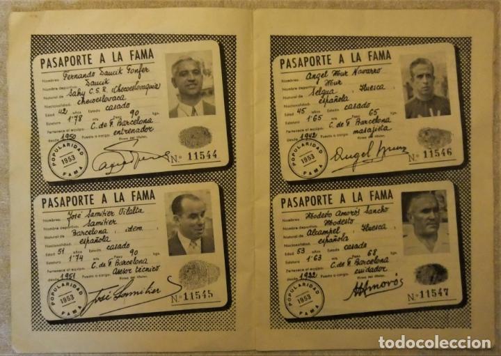 Coleccionismo deportivo: REVISTA BOLETIN DEL C.F. BARCELONA 1952-53 EDIT. INSTITUTO BALDOMÁ BARÇA - Foto 10 - 136145970