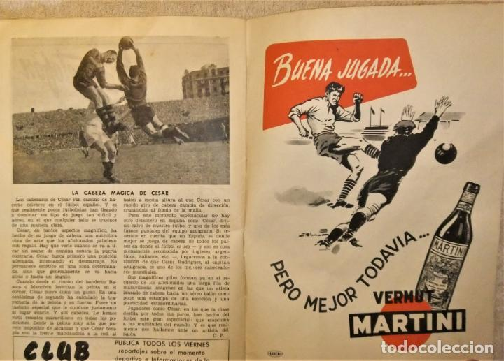 Coleccionismo deportivo: REVISTA BOLETIN DEL C.F. BARCELONA 1952-53 EDIT. INSTITUTO BALDOMÁ BARÇA - Foto 11 - 136145970