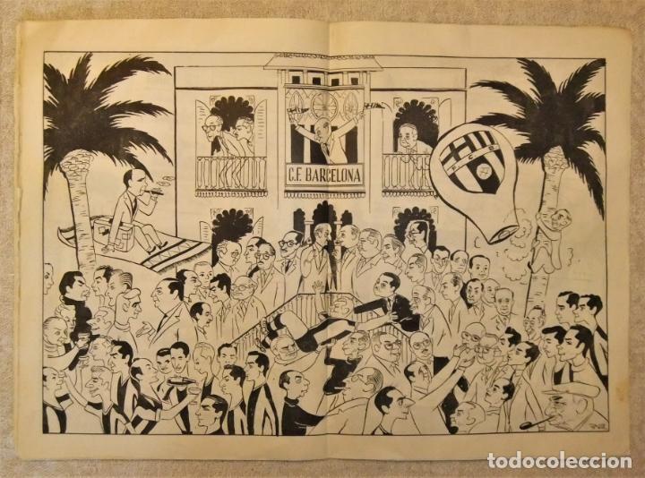 Coleccionismo deportivo: REVISTA BOLETIN DEL C.F. BARCELONA 1952-53 EDIT. INSTITUTO BALDOMÁ BARÇA - Foto 12 - 136145970
