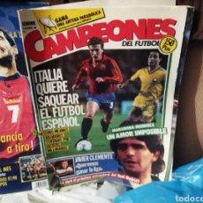 Coleccionismo deportivo: REVISTA CAMPEONES 1986. NUMERO 1 NOVIEMBRE. Lote 136238681