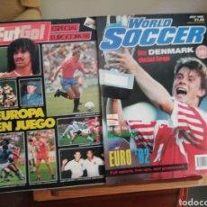 Coleccionismo deportivo: EUROCOPA 1988 Y 1992. Lote 136247820