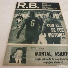 Coleccionismo deportivo: (ABJ)R.B.-REV.BARCELONISTA Nº:610(7-12-76)CELTA DE VIGO 0 BARÇA 0,MARCIAL PINA,AGUSTIN MONTAL. Lote 136291614