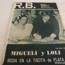 Coleccionismo deportivo: (ABJ)R.B.-REV.BARCELONISTA Nº:640(5-7-77)MIGUELI BODA CON LOLI,BARÇA 1976-77 ANALISIS PLANTILLA. Lote 136292774