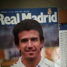 Coleccionismo deportivo: REAL MADRID REVISTA OFICIAL JUANITO FALLECE, MAYO 1992. Lote 159441365