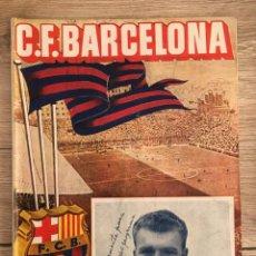 Coleccionismo deportivo: PROGRAMA OFICIAL BARCELONA ATLETICO MADRID LIGA TEMPORADA 1951 1952. Lote 136683234
