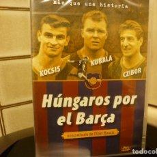 Colecionismo desportivo: DVD FUTBOL-HÚNGAROS POR EL BARÇA-KOCSIS-CZIBOR Y KUBALA-AUDIO HUNGARO, ESPAÑOL,CATALÁN. Lote 193936328