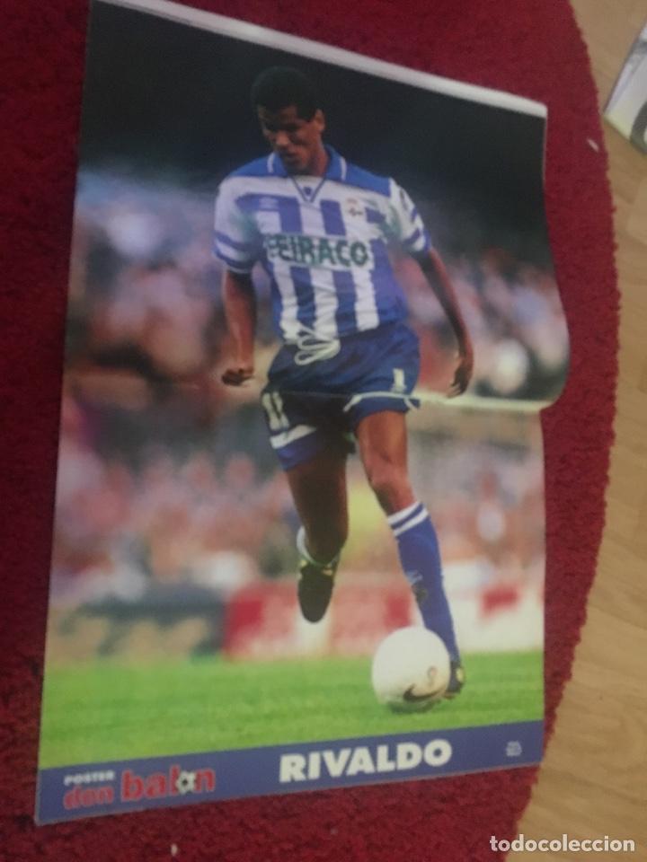 Coleccionismo deportivo: Don balón real madrid liga Raül liga 1997 - Foto 3 - 136752969