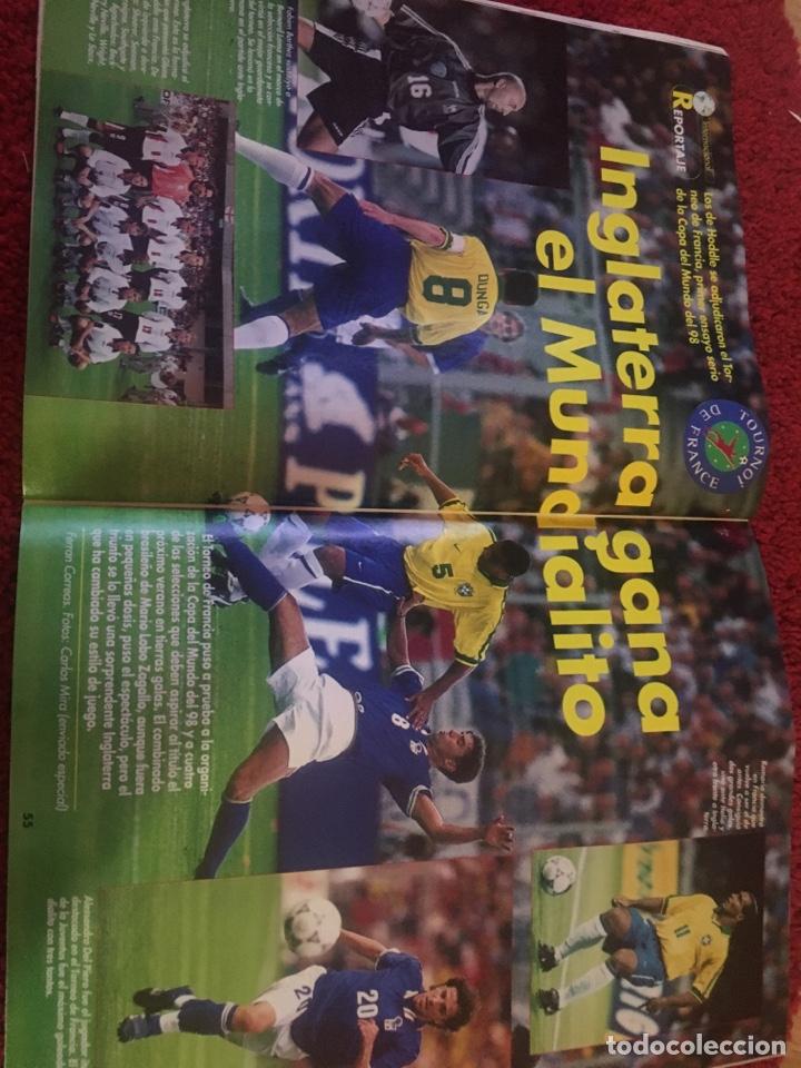 Coleccionismo deportivo: Don balón real madrid liga Raül liga 1997 - Foto 6 - 136752969