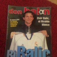 Coleccionismo deportivo: DON BALÓN REAL MADRID LIGA RAÜL LIGA 1999 BALIC SEVILLA RONALDONHO. Lote 136753401