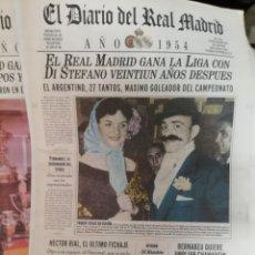 Coleccionismo deportivo: REAL MADRID. DIARIO OFICIAL 1954.. . RESUMEN DEL AÑO.. Lote 136821561