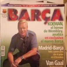 Coleccionismo deportivo: BARÇA FC BARCELONA REVISTA Nº1 SEPTIEMBRE DE 1998 CON PÓSTER PERFECTO ESTADO. Lote 136873194