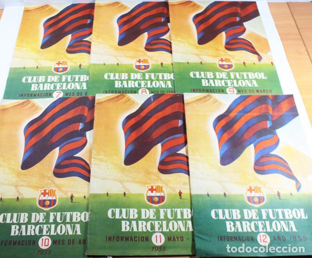 Coleccionismo deportivo: LOTE 13 REVISTAS BOLETINES CLUB DE FUTBOL BARCELONA INFORMACION MES ENTRE 1954 A 1956 BARÇA - Foto 3 - 137152278
