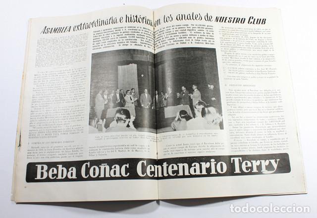 Coleccionismo deportivo: REVISTAS BOLETIN CLUB DE FUTBOL BARCELONA INFORMACION 11 MAYO-JUNIO 1955, BARÇA - Foto 2 - 137152450