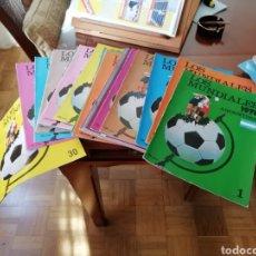 Coleccionismo deportivo: MUNDIALES DE FÚTBOL _30 FASCICULOS DE COLECCIÓN. Lote 137214253