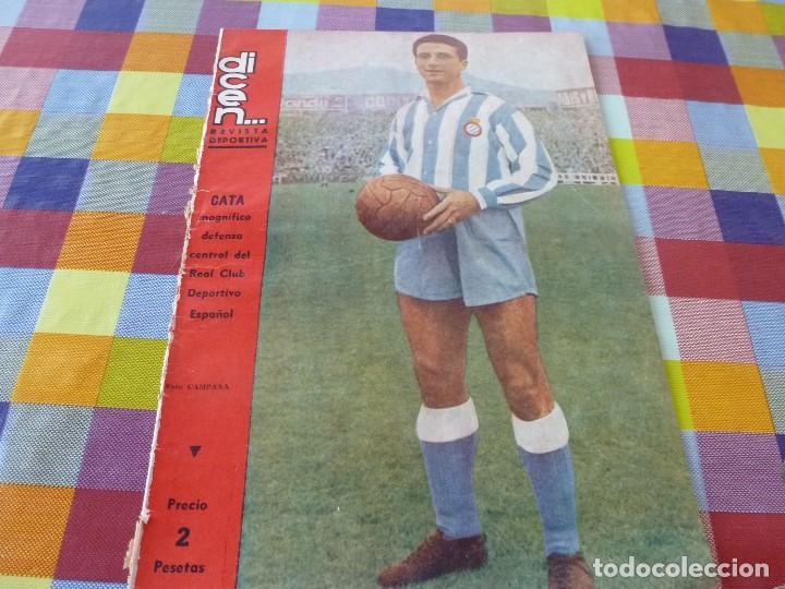 (ABJ)-DICEN Nº:195(23-6-56)CATA(ESPAÑOL) LOS HARLEM GLOBBETROTTERS,GOICOLEA(BARÇA) (Coleccionismo Deportivo - Revistas y Periódicos - otros Fútbol)