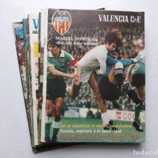 Coleccionismo deportivo: LOTE 13 REVISTAS MENSUAL VALENCIA CLUB FUTBOL. Lote 137791078