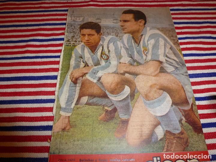 (ABJ)DICEN Nº:88(22-5-54)BOLINCHES Y FAURA(ESPAÑOL) MARCET(ESPAÑOL) (Coleccionismo Deportivo - Revistas y Periódicos - otros Fútbol)