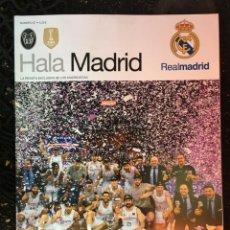 Coleccionismo deportivo: REVISTA REAL MADRID Nº 67 HALA MADRID CAMPEONES LIGA 2017 2018 BALONCESTO. Lote 138233030