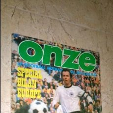 Coleccionismo deportivo: ONZE N° 7. REVISTA FÚTBOL. Lote 138288738